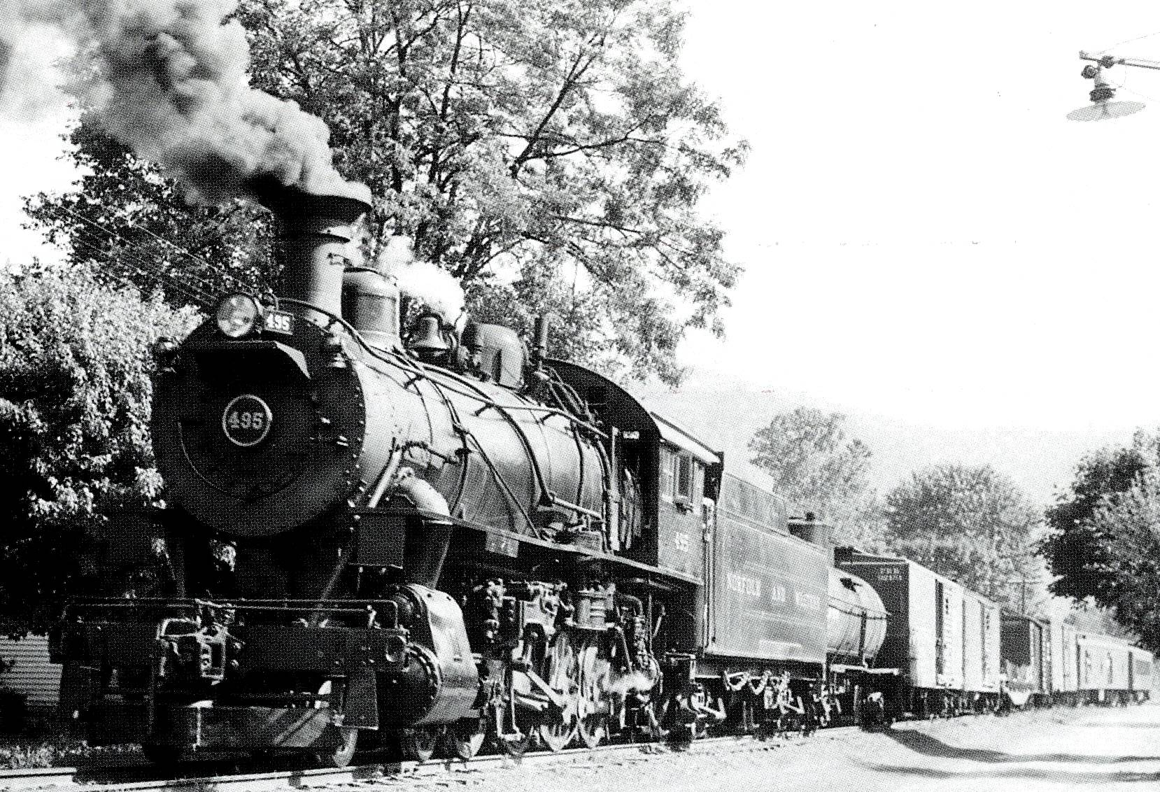 steam engine CROP AND CONTRAST