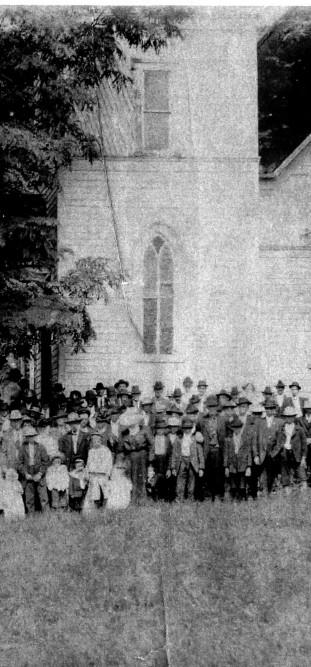 Worth's Chapel ca 1918 B&W enhanced